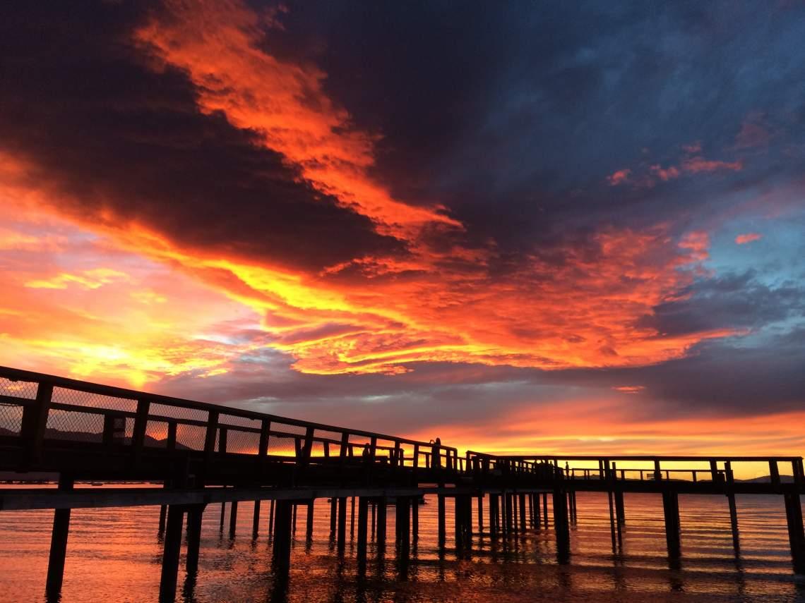 LLV sunset