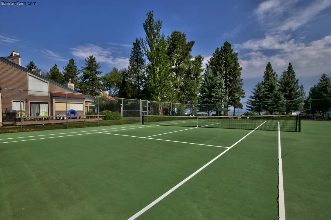 Lakeland Village lake view tennis courts