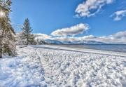 snow beach west sparkle